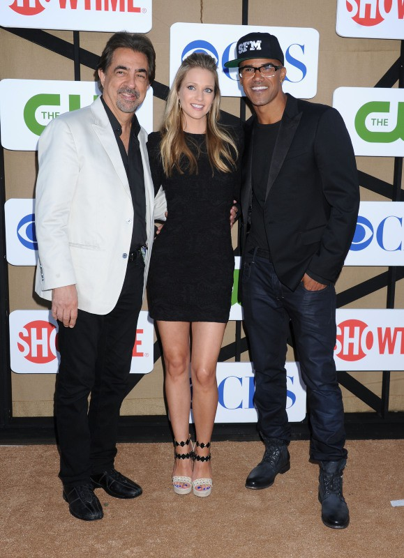 Joe Mantegnan, AJ Cook et Shemar Moore lors de la soirée CW, CBS and Showtime 2013 Summer TCA Party à Beverly Hills, le 29 juillet 2013.