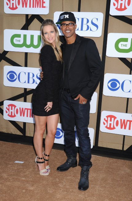 Shemar Moore et AJ Cook lors de la soirée CW, CBS and Showtime 2013 Summer TCA Party à Beverly Hills, le 29 juillet 2013.