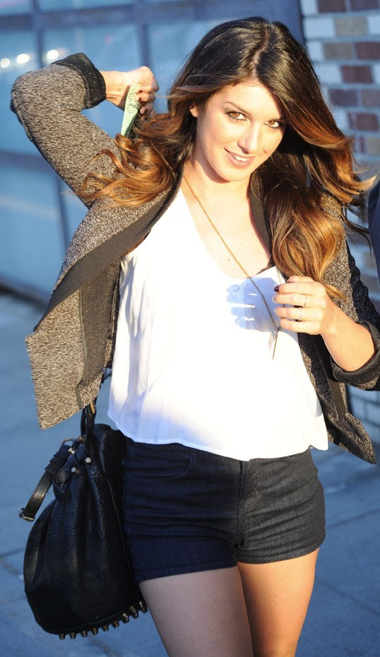 Shenae Grimes à Venice Beach le 2 août 2012