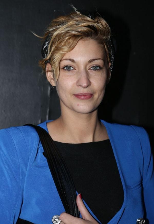 """Sheryfa Luna à l'enregistrement de l'émission """"Tout le monde chante contre le cancer"""" à Paris le 4 décembre 2012"""