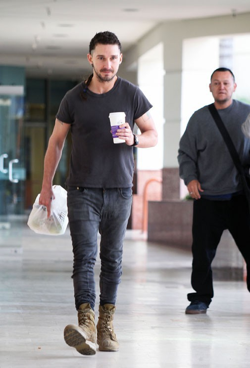 Shia Labeouf à Los Angeles le 2 mars 2015