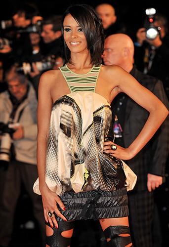 Shy'm à Cannes le 17 janvier 2009