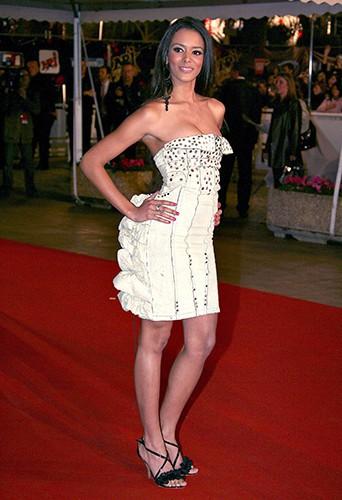 Shy'm à Cannes le 20 janvier 2007