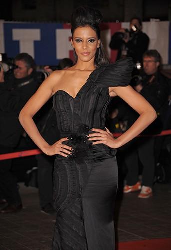 Shy'm à Cannes le 22 janvier 2011