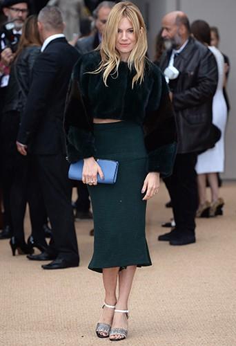 Sienna Miller à Londres le 16 septembre 2013