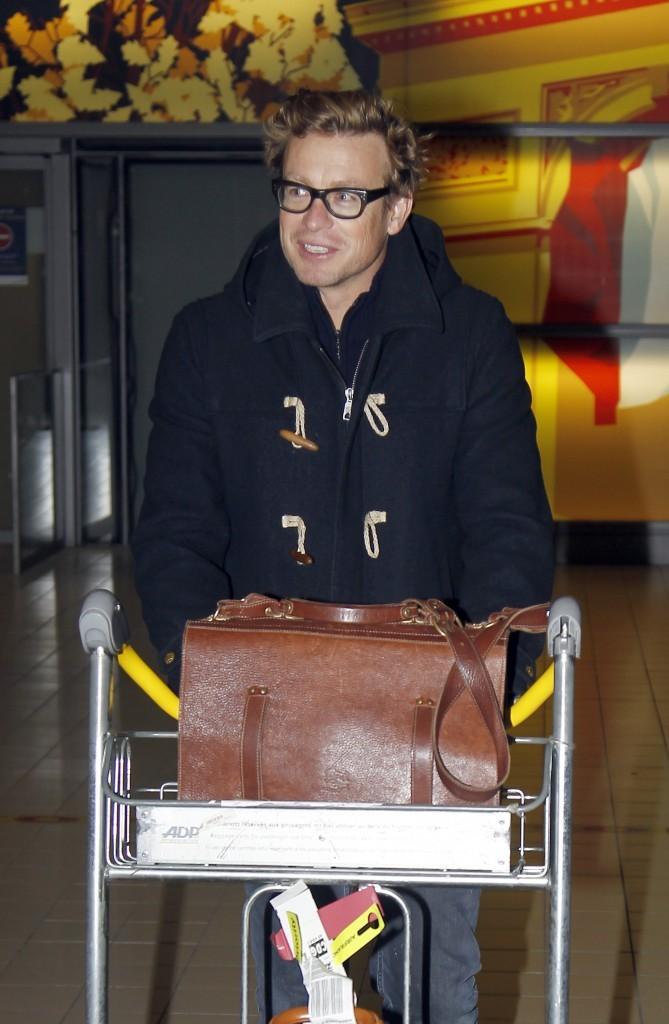 Simon Baker, Paris, 14 décembre 2012.