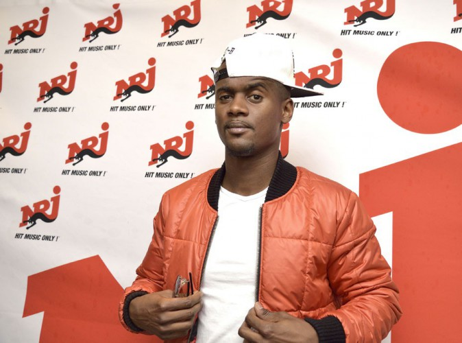 Black M à la NRJ Pool Party à Paris, le 20 mai 2015