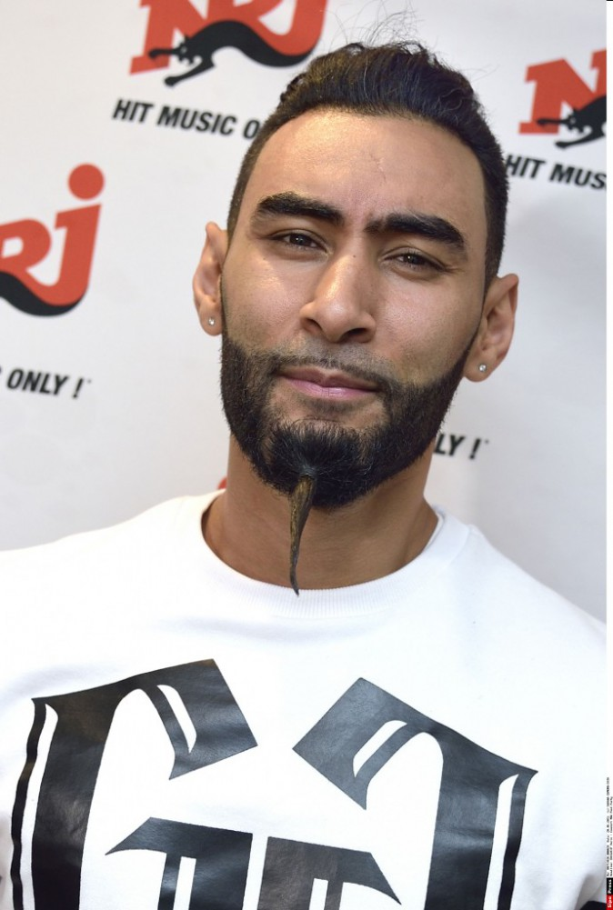 La Fouine à la NRJ Pool Party à Paris, le 20 mai 2015