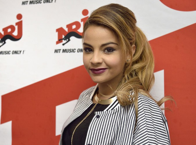 Sindy à la NRJ Pool Party à Paris, le 20 mai 2015