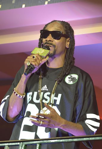 Snoop Dogg à la NRJ Pool Party à Paris, le 20 mai 2015