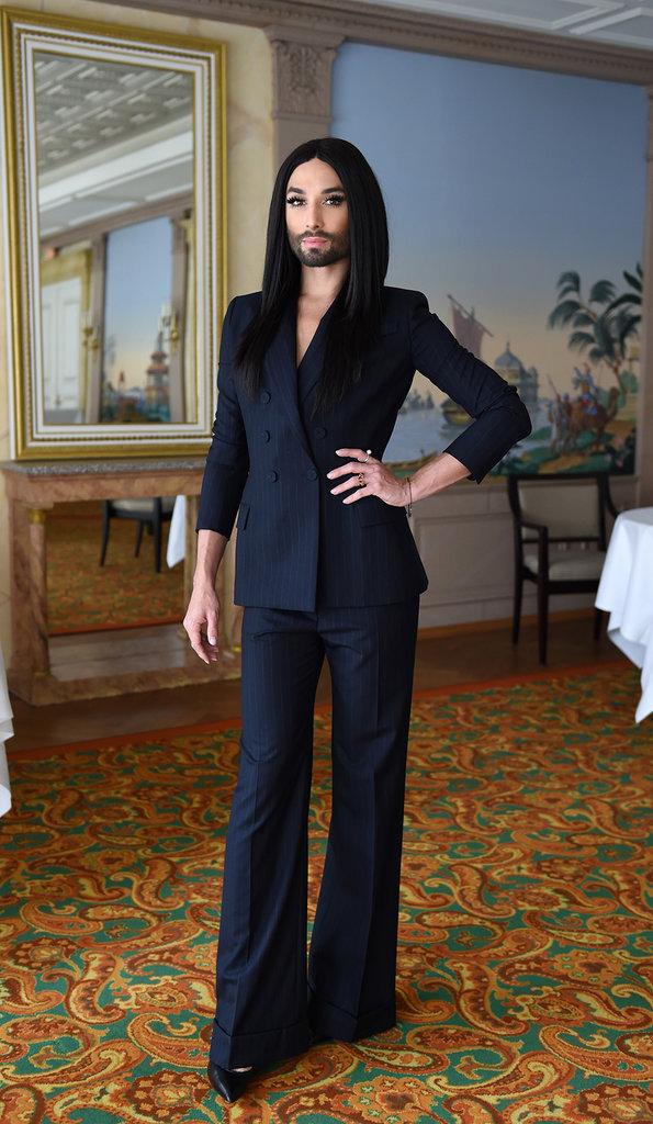 Conchita Wurst le 14 octobre 2015