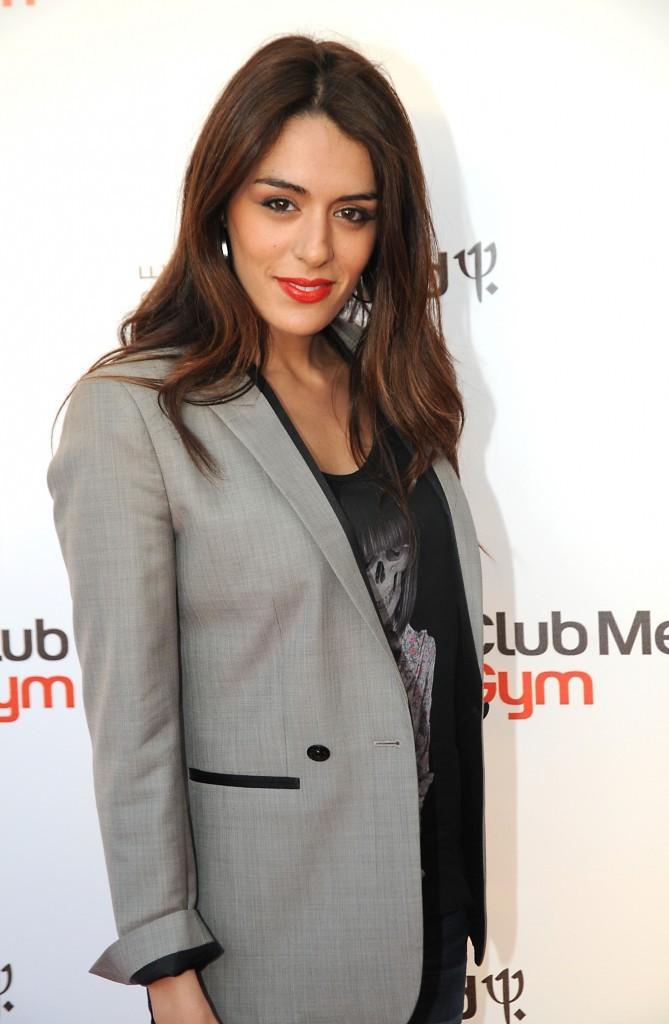 Sofia Essaïdi lors de l'inauguration du l'inauguration du Club Med Gym Bastille à Paris, le 7 juin 2012.