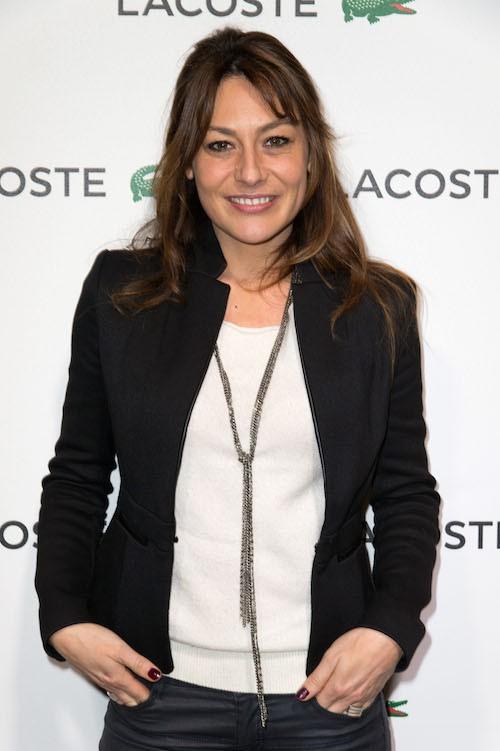 Shirley Bousquet à la soirée Lacoste à Paris, le 22 janvier 2014