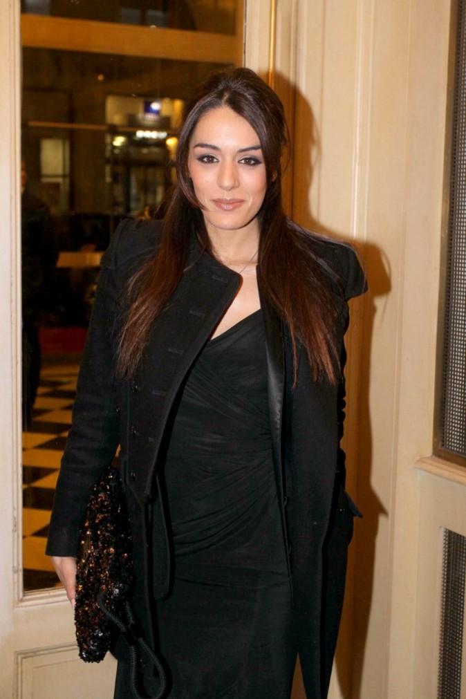 Sofia Essaïdi lors du gala pour l'association Enfance Majuscule à Paris, le 5 mars 2012.