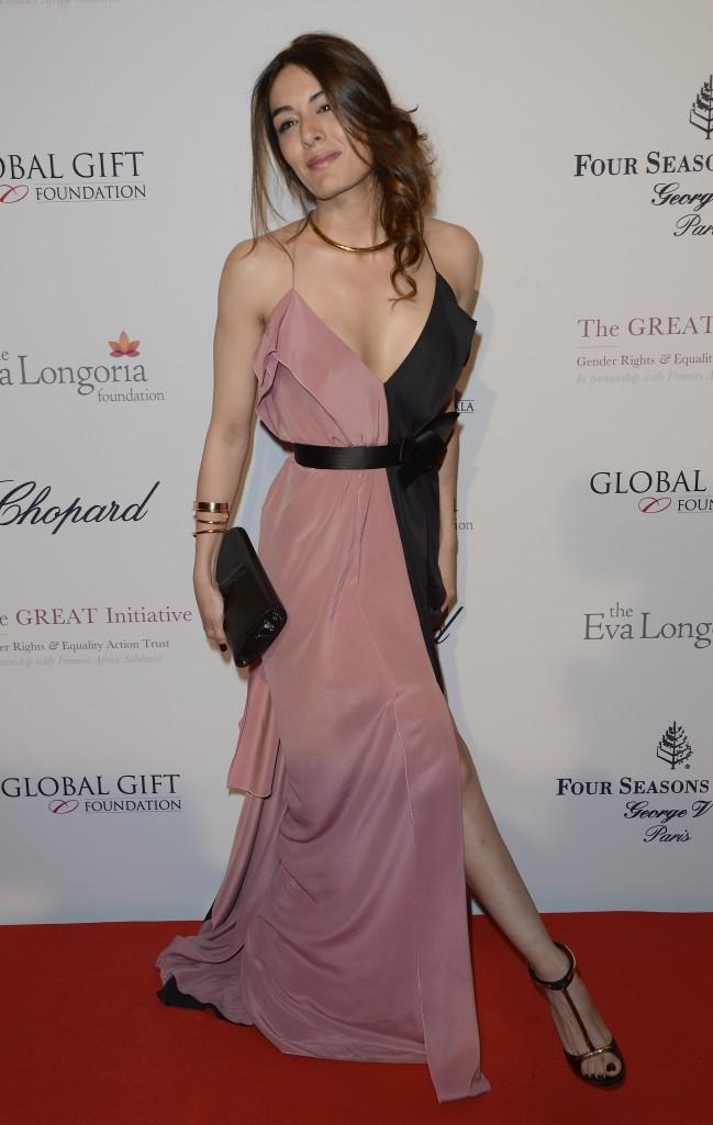 Sofia Essaïdi lors du Global Gift Gala à Paris, le 13 mai 2013.