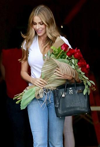 Sofia Vergara à Los Angeles le 10 août 2014