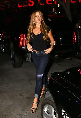 Sofia Vergara à Los Angeles le 12 août 2014