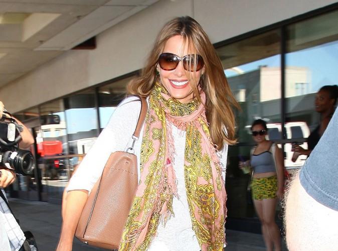 Sofia Vergara à Los Angeles le 10 juillet 2014
