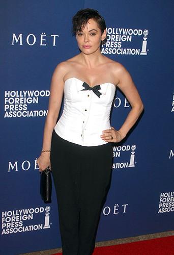 Rose McGowan à Los Angeles le 14 août 2014