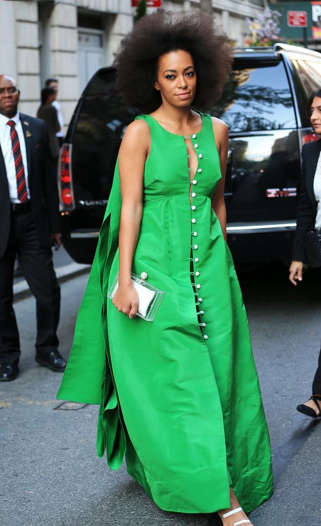 Photos : Solange Knowles : déjà prête pour le Met Gala !