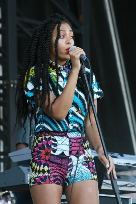 Solange Knowles le 1er juin 2013 à Philadelphie