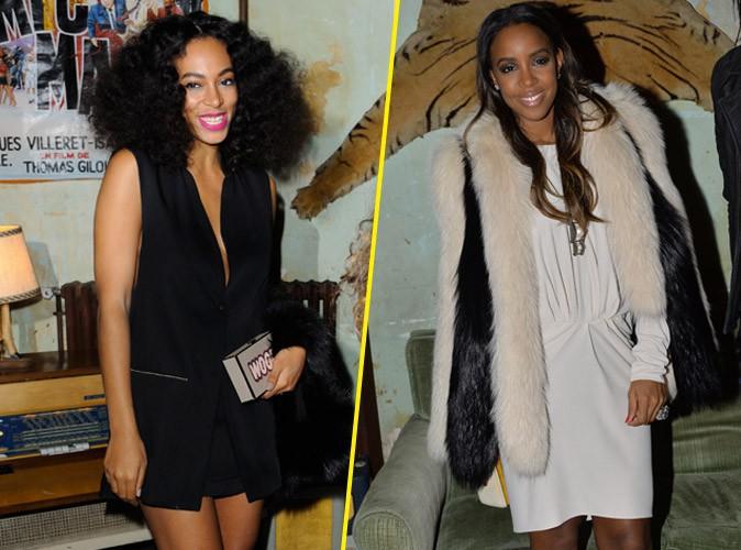 Photos : Solange Knowles et Kelly Rowland : deux bombes US pour Eleven Paris !