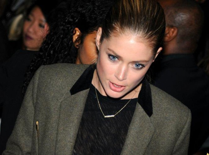 Doutzen Kroes lors de la Ciroc Party au VIP Room Theater, le 6 mars 2012.