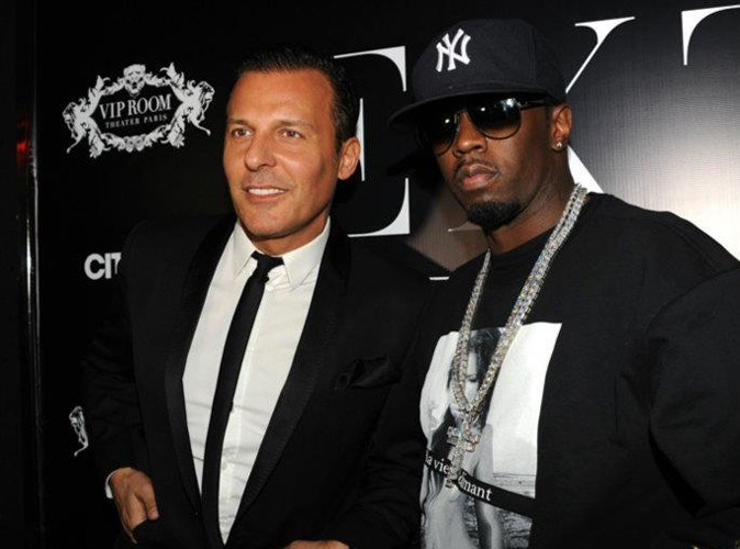 P.Diddy et Jean-Roch au VIP Room Theater, le 6 mars 2012.