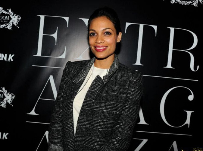 Rosario Dawson lors de la Ciroc Party au VIP Room Theater, le 6 mars 2012.