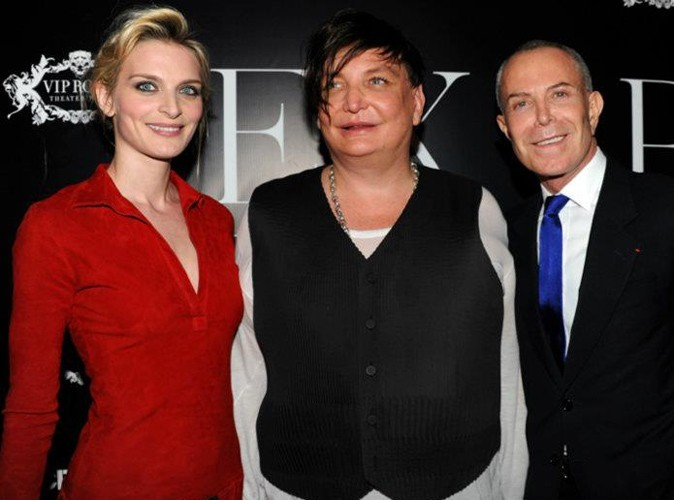 Sarah Marshall et Jean-Claude Jitrois lors de la Ciroc Party au VIP Room Theater, le 6 mars 2012.