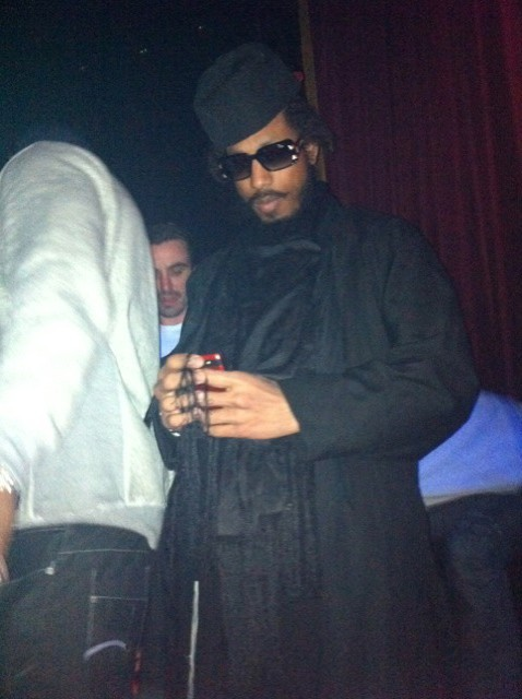 Shyne Po lors de la Ciroc Party au VIP Room Theater à Paris, le 6 mars 2012.