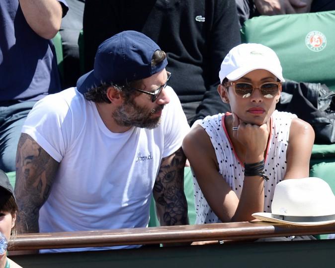 Photos : Sonia Rolland et Jalil Lespert : un couple qui vend du rêve à Roland Garros !