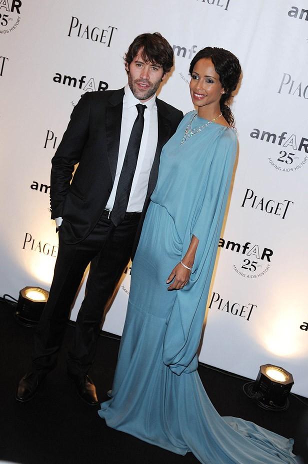Sonia Rolland avec Jalil Lespert hier soir à Paris !