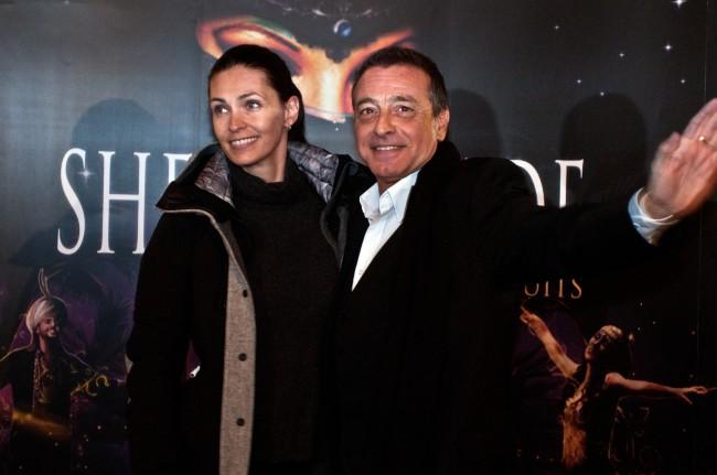 Adeline Blondieau et Félix Gray lors de la première de Shéhérazade - Les Mille et une Nuits, le 6 décembre à Paris.