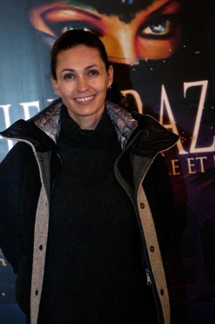 Adeline Blondieau lors de la première de Shéhérazade - Les Mille et une Nuits, le 6 décembre à Paris.