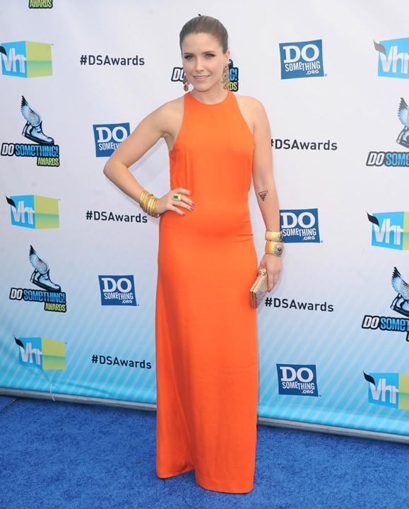 Sophia Bush à la cérémonie des Do Something Awards le 19 août 2012 à Santa Monica
