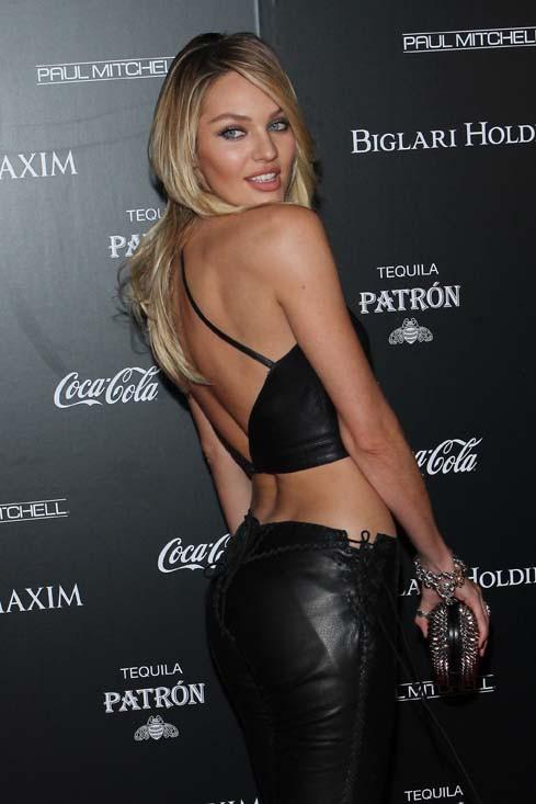 Candice Swanepoel à la soirée organisée par le magazine Maxim à Los Angeles le 10 juin 2014