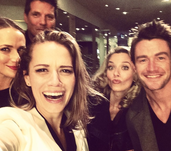 Photos : Sophia Bush : elle retrouve Peyton, Haley et les Scott à Paris !