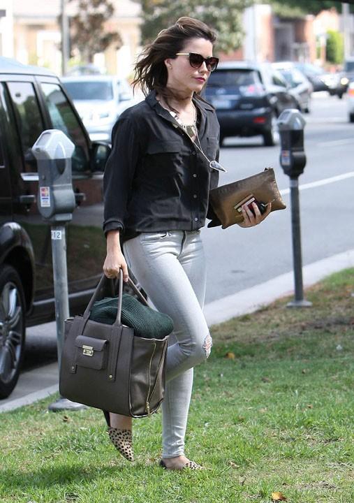 Sophia Bush à Beverly Hills le 3 octobre 2013