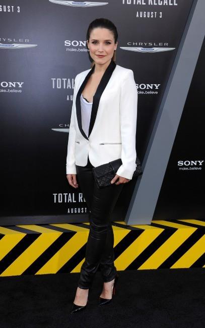 Sophia Bush lors de la première de Total Recall à Hollywood, le 1er août 2012.