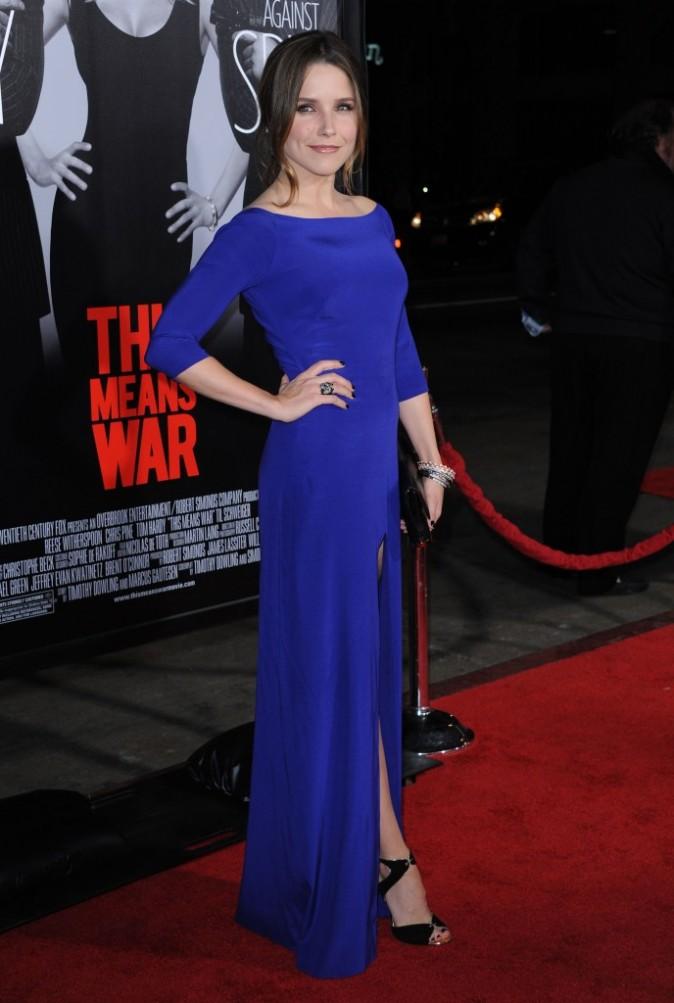 Sophia Bush lors de la première du film This Means War à Hollywood, le 8 février 2012.
