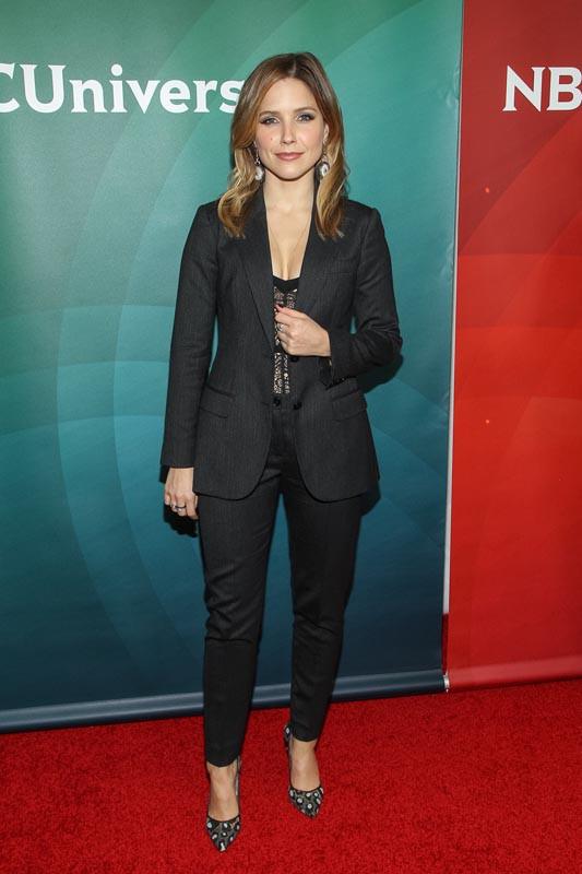 Sophia Bush à Pasadena le 19 janvier 2014