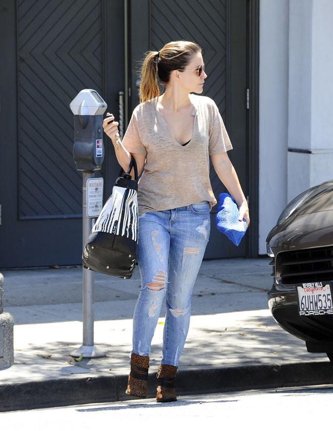 Sophia Bush à Beverly Hills le 21 août 2013