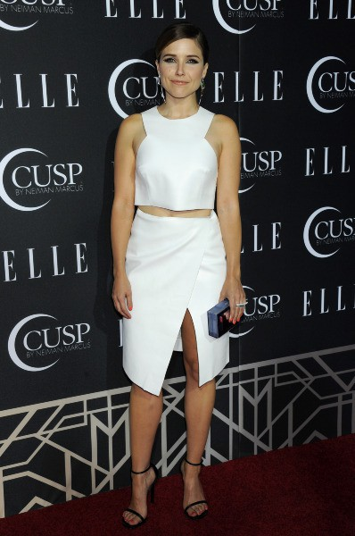 "Sophia Bush lors de la soirée ""Elle Women in Music Celebration"" à Hollywood, le 22 avril 2014."