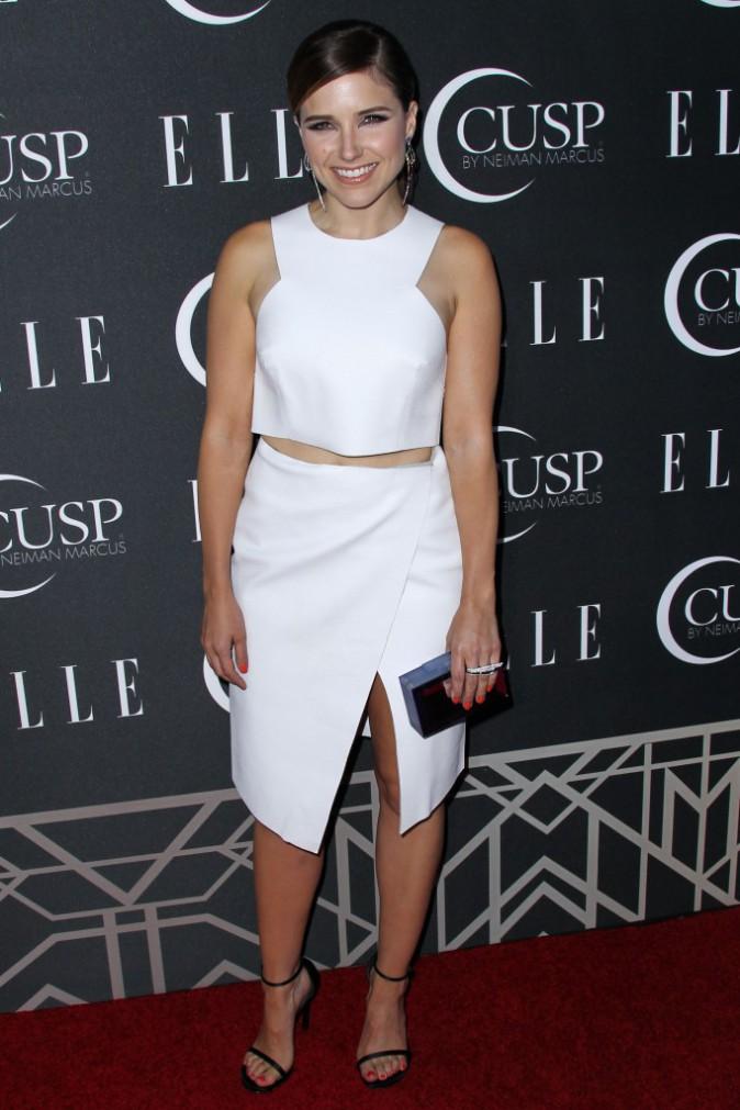"""Sophia Bush lors de la soirée """"Elle Women in Music Celebration"""" à Hollywood, le 22 avril 2014."""