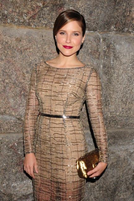 "Sophia Bush lors du gala ""Pencils Of Promise"" à New York, le 24 octobre 2013."