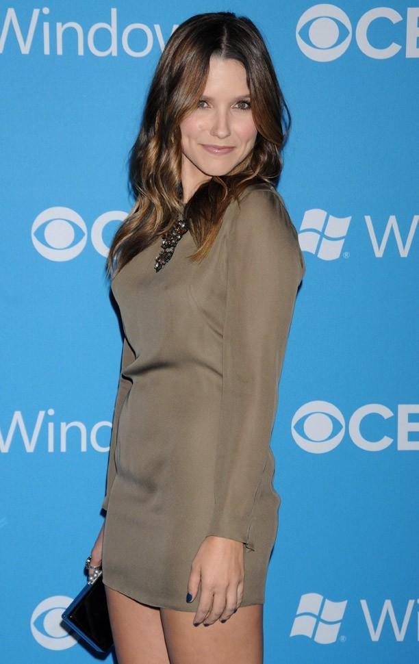 Sophia Bush à la soirée CBS Fall Premiere le 18 septembre 2012