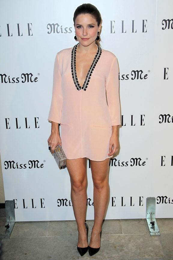 Sophia Bush à la soirée de lancement de l'album Miss Me à Los Angeles le 9 aout 2012