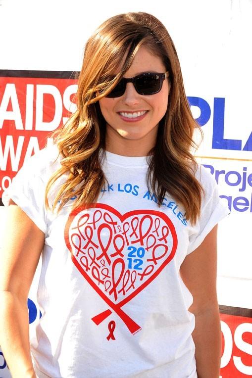 Sophia Bush à la 28 ème marche annuelle de l'association AIDS à Los Angeles le 14 octobre 2012
