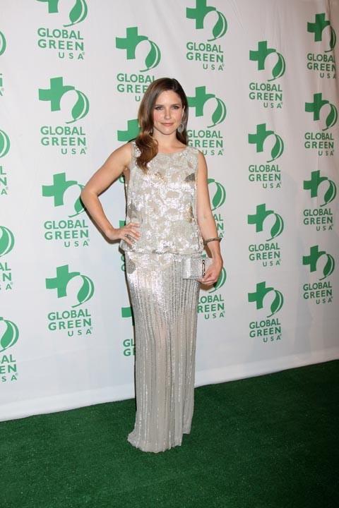 Sophia Bush à la soirée Global Green USA hier soir à Los Angeles